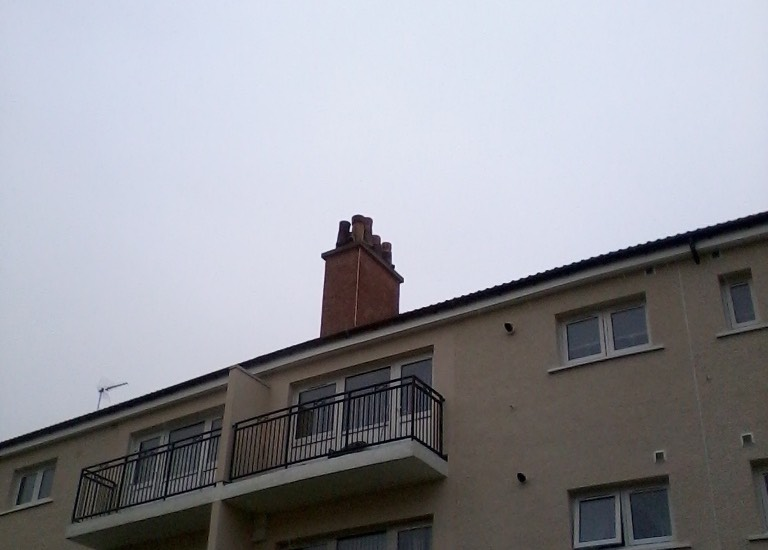 Chimneys in need of repair