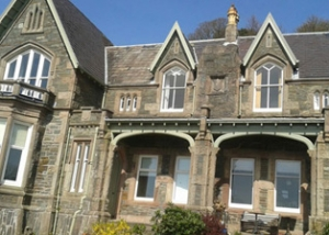 domestic roof repair Glasgow before recovering