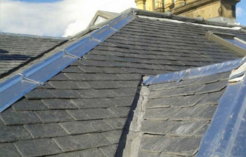 Slates and lead work repair - C Hanlon Roofing