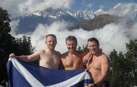 Chris Hanlon, Allan Dickson and Ken Thomson