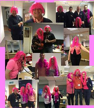 C Hanlon staff raise money for Breast Cancer Awareness