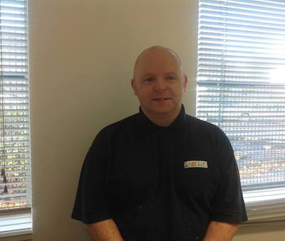 Alastair Dorward - one of C Hanlon's Senior Gas Service Engineers
