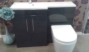 Lomond Slimline Bathroom Unit from C Hanlon