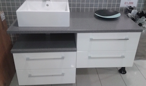 Mereway Adriatic Bathroom Unit
