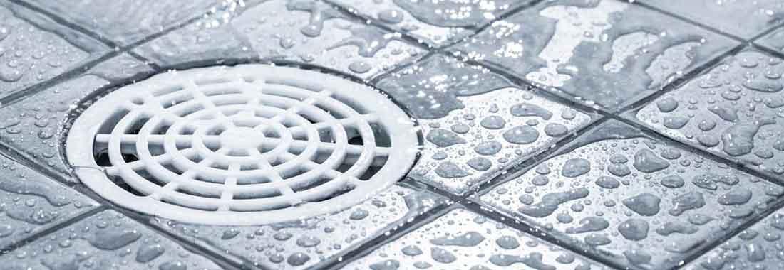 Shower Drain Banner