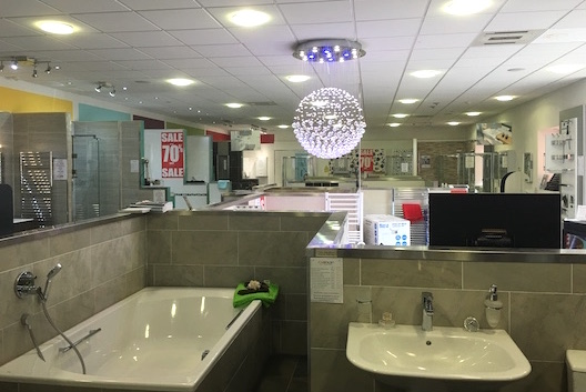 Bathroom Lighting Glasgow bathroom showroom thornliebank | c hanlon bathrooms glasgow