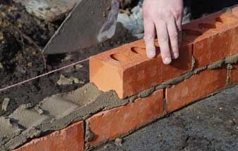Commercial Building - Brick laying and building