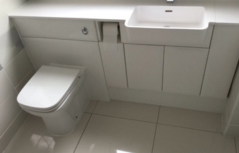New toilet and sink unit - C Hanlon Bathrooms