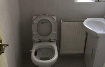Toilet refurbishment C Hanlon Bathrooms