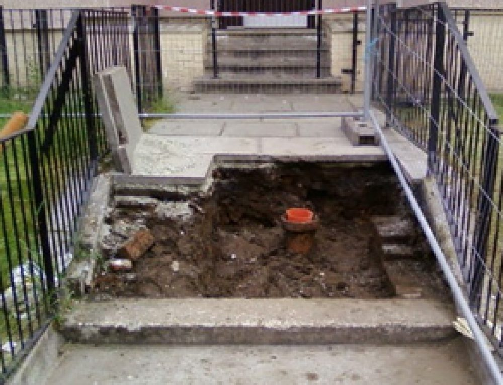 Tenement Stairwell Excavation