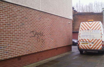 C Hanlon Graffiti removal