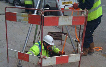 C Hanlon blocked drain clearance