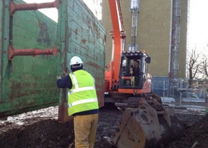 C Hanlon Civil Engineering excavation