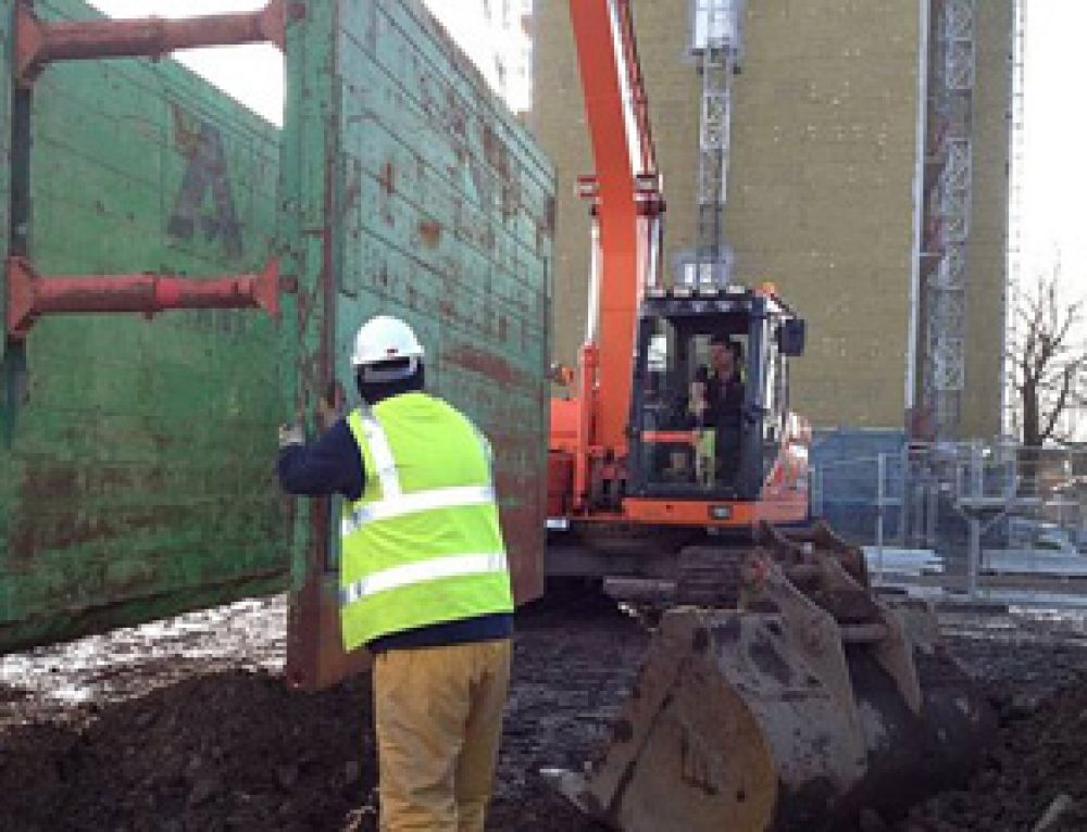 Deep Excavation, Ibroxholm Oval, Glasgow