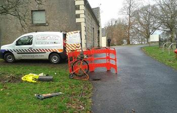 minimal disruption with CCTV Drain survey