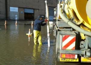 Clearing mains blockage Coatbridge