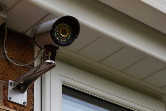 CCTV door entry system installation C Hanlon electrician Glasgow