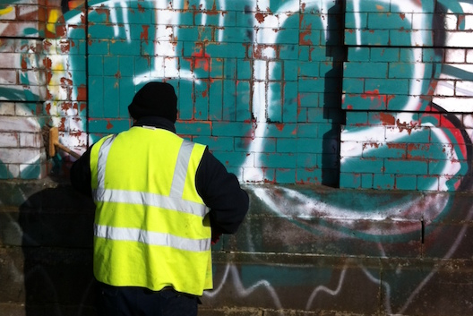 Graffiti removal Glasgow C Hanlon