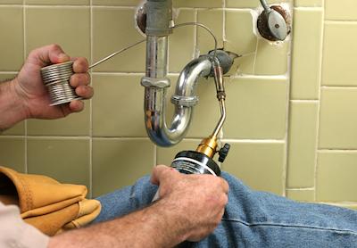 Plumbing repair from C Hanlon