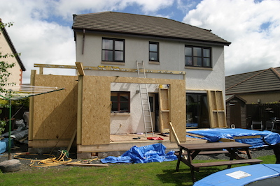 House extension Glasgow