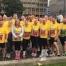 Team C Hanlon at George Square Glasgow