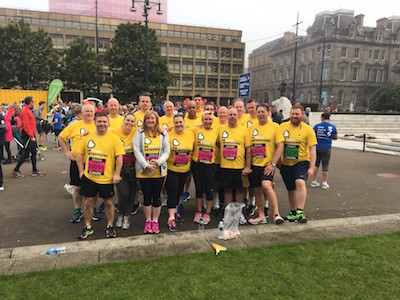 Team C Hanlon George Square Glasgow