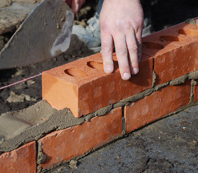 building bricklaying insurance work