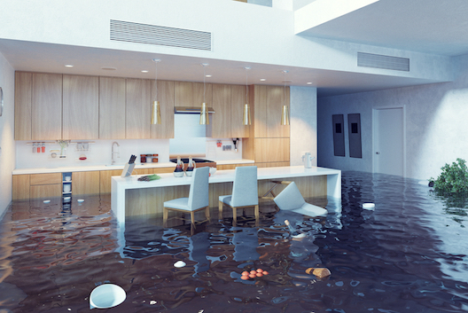 kitchen flooding insurance claim