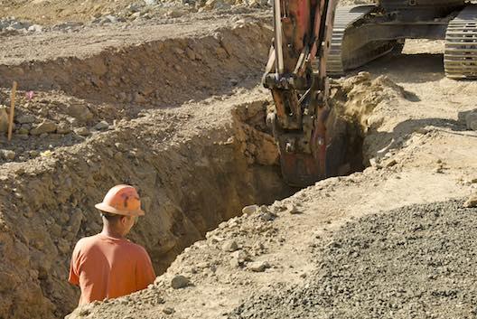 Groundworks excavation
