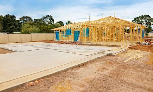 Groundworks foundation construction