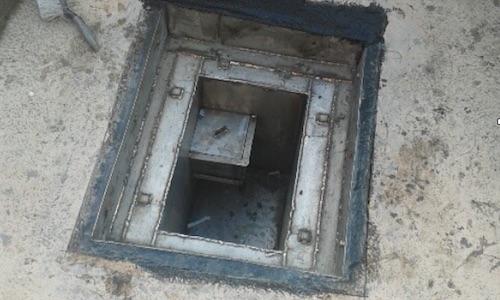 Drainage gully pot repair
