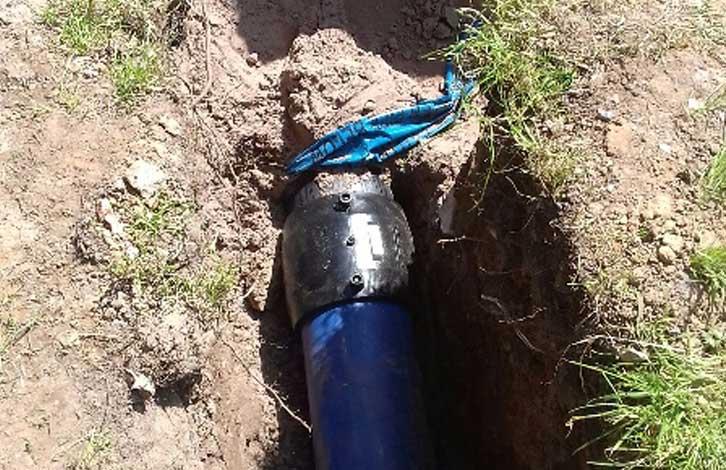 C Hanlon Drainage pipe lay Maryhill Glasgow