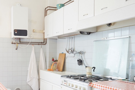 Old boiler landlord property