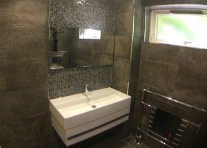 New bathroom installation