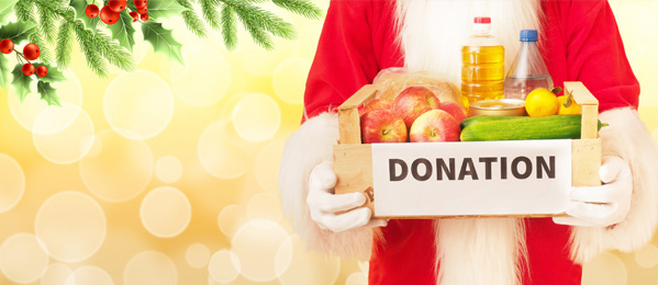 C Hanlon Christmas Food Bank Donation C Hanlon All Trades
